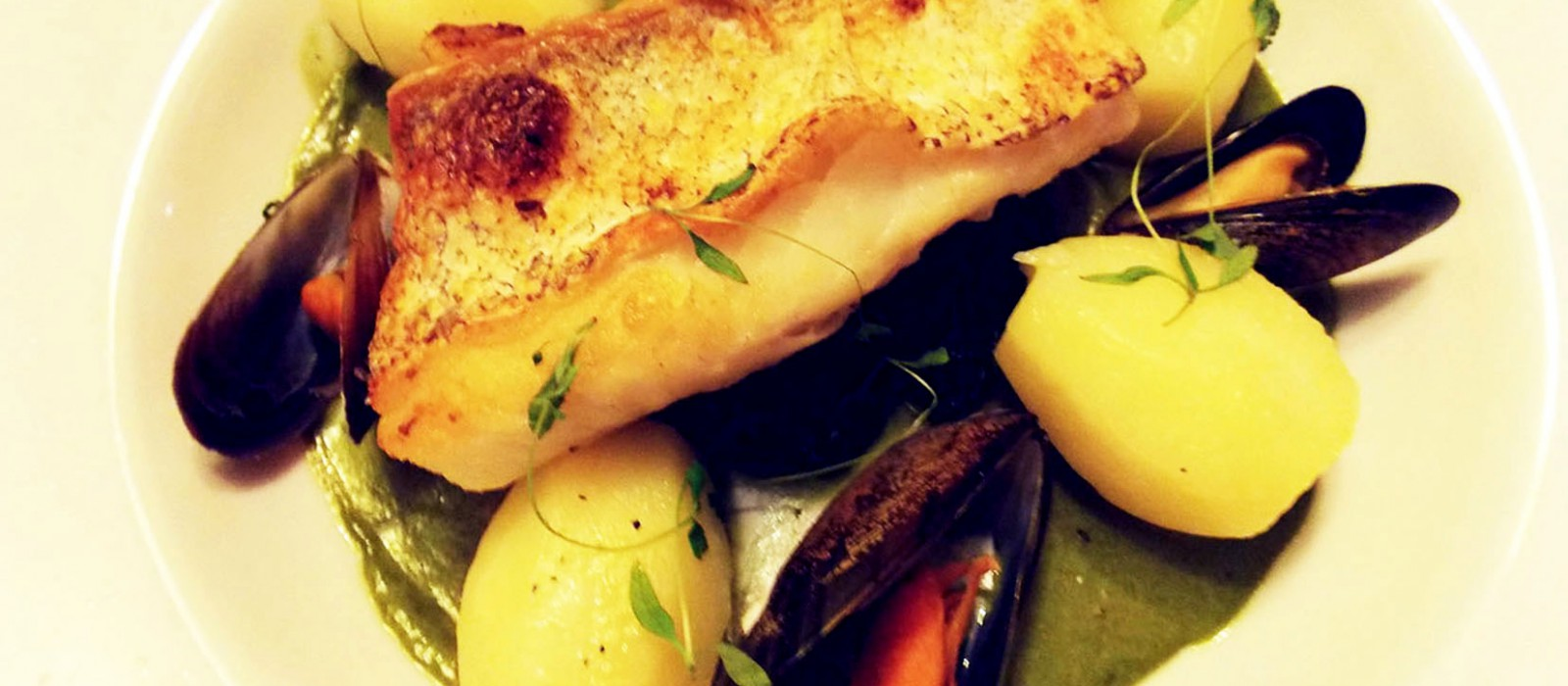 Hake Fillet with Mussels