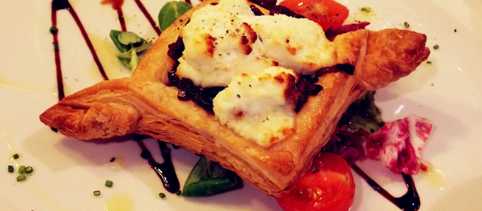 Red Onion & Goats Cheese Tartlet