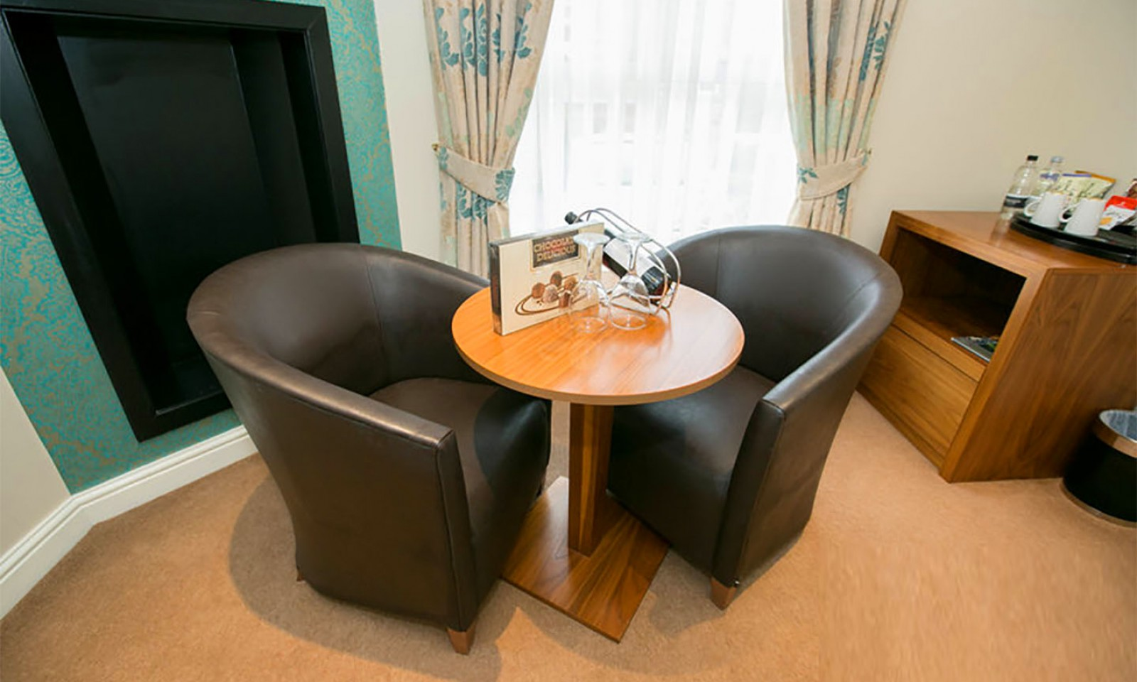 Executive Bedroom Seating Area